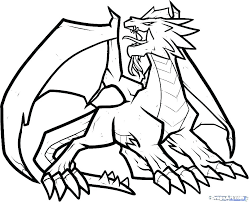 Dragon Coloriage Pages Scary Dragon Coloring Pages Dragon Coloring