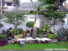 backyard garden landscape