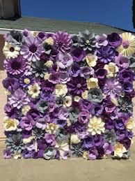Flower Wall Flower Wall Quinsiaa Era Wedding Pinterest Paper Flower Wall