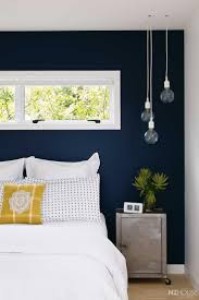 20+ Accent Wall Ideas You'll Surely Wish to Try This at Home. Blue Accent  WallsNavy ...