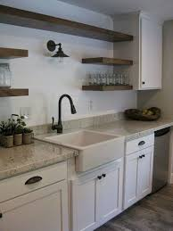 Good Looking Kitchen Without Upper Cabinets Ideas Cabinet Country