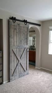 interior sliding barn doors. Unique Barn Sliding Barn Door On Doorway Going From Dinning Room Into The Den Intended Interior Doors L