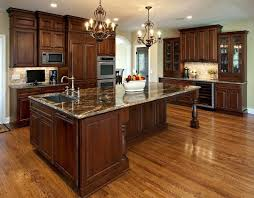 cherry wood kitchen cabinets with black granite brown varnished wood kitchen island knotty pine cabinet doors