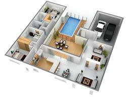 2 bedroom home designs lofty inspiration single floor home design plans 3 bedroom house floor plan
