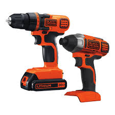 black and decker tools. 20-volt black and decker tools t
