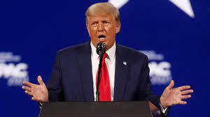 Rede bei CPAC-Konferenz: Trump deutet ...