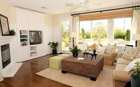 Relaxing Decor With Tan Living Room Ideas
