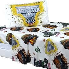 monster truck bedding set