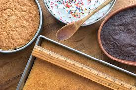 alternative baking pan sizes via kingarthurflour