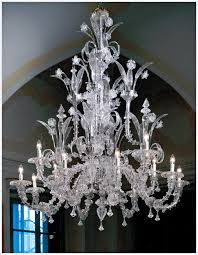 image detail for large traditional venecian clear murano glass chandelier