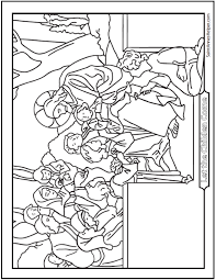 45 Bible Story Coloring Pages Creation Jesus Mary Miracles
