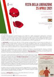 25 aprile 2021 - Festa della Liberazione - Comune di Gradisca d'Isonzo