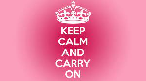 52+ Keep Calm Wallpapers for Girls