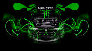 monster energy bmw m3 engine open car