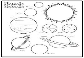 Solar System Coloring Pages Outer Space Free Solar System Coloring