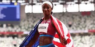 Silver medalist Kendra Harrison has ...