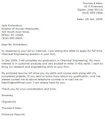 Engineer Cover Letter Examples Cover Letters
