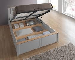 birlea phoenix pearl grey ottoman bed