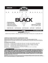 Manitou Oil Chart Manitou Answer 2002 Black Comp Elite Air Super Air Service