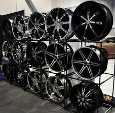 Alloy Wheel Display Stand Just A Car Guy the best rim displays at SEMA this year 45