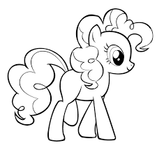 Small Picture My Little Pony Pinkie Pie Coloring Pages Nice Coloring Pages for