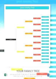Excel Genealogy Templates Excel Genealogy Template Family Tree 6 Generation Pigeon Pedigree