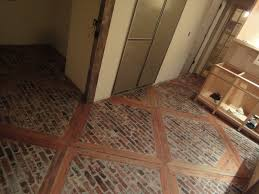 Concrete Wood Floors Stone Floor With Wood Inlays Doityourselfcom Community Forums