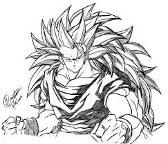 Small Picture Dragon Ball Z Coloring Pages Super Saiyan 5 Coloring Home