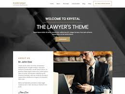 Krystal Lawyer - WordPress theme | WordPress.org