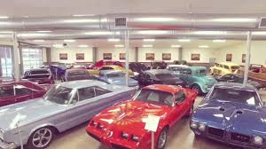 Fly by of our Classic Car Showroom