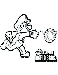 Super Mario Bros Disegni Da Colorare