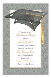 Formal Graduation Announcement Formal Graduate