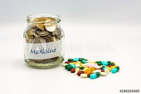 coins in small glass bottle with heart shape of assorted s