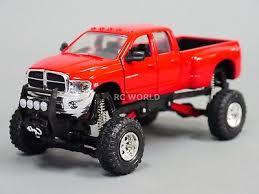 1/32 DIECAST PICKUP DODGE RAM 3500 Lifted 4X4 Truck Model w ...