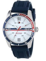 tommy hilfiger watch new used gold sport steel