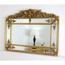 white ornate wall mirror page 1