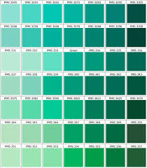 Pantone Green Color Chart Color Families That Work For Seafoam Teal In 2019 Pantone