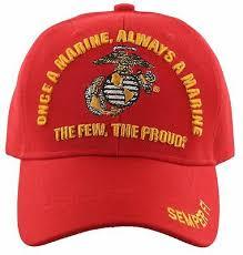 Once A Marine Always A Marine Usmc Semper Fi Once A Marine Always A Marine Corps Cap Hat