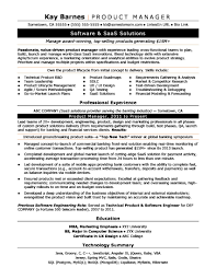 Product Manager Resume Sample Monster Project Management Resume