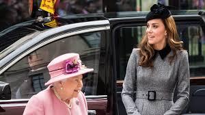 Duchess Kate, Queen Elizabeth visit King