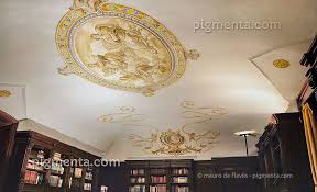 Soffitto A Volta : Pittura murale su soffitti volte e cupole dipinti in