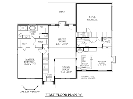 2 story house plans with master on first floor home deco at plan