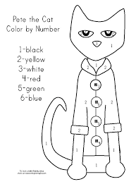 Pete The Cat Coloring Page The Cat Coloring Pages Pete The Cat