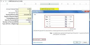 Balloon Payment Loan Excel Function Pmt Example 1 Paying Off A Loan Excel Pmt Function