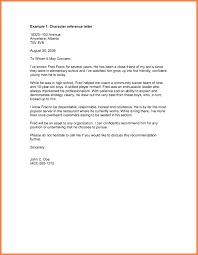 Character Letter 24 Character Letter For Court Examples Receipts Template 12