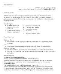 Sample Resume For Customer Service Representative Simple Resume For Customer Service Customer Service Representative Resume