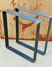 contemporary metal furniture legs. Awesome Contemporary Table Leg Design Width Is 24 Or Can Be Inside Metal Bar Legs Decor Furniture