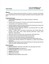 hadoop developer resume resume templates