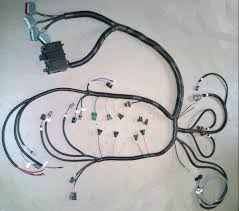 custom made 4u stand alone lt1 gm engine wiring harness harness is for use on lt1 motors specify year transmission type make and model of computer when ordering perfect for crate motors