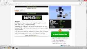 how to download a minecraft map pc   youtube